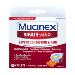 Maximum Strength Sinus-Max® Severe Congestion & Pain