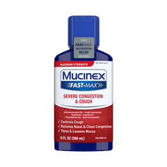 Maximum Strength Fast-Max® Severe Congestion & Cough
