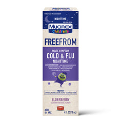 MUCINEX® Children's FreeFrom Multi-Symptom Cold and Flu Nighttime
