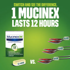 Mucinex® DM 12 Hour Extended Release Bi-Layer Tablets 6 Ct.