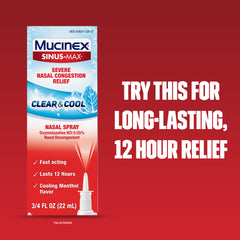 MUCINEX® SINUS-MAX® - Day & Night