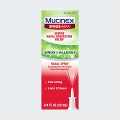Sinus-Max® Severe Nasal Congestion Relief Sinus & Allergy