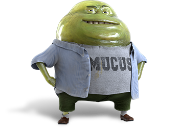 Mr Mucinex graphic
