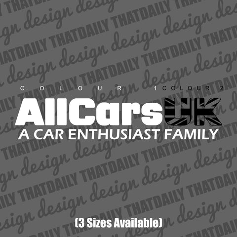 AllCarsUK with Slogan