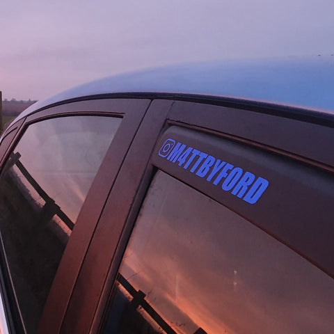 Custom Username Sticker