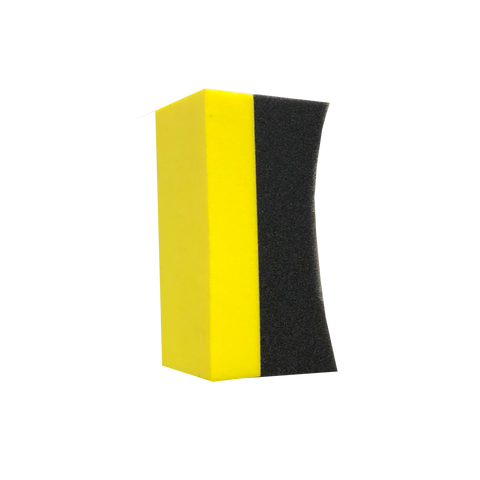 Liquorice Block Wheel Sponge