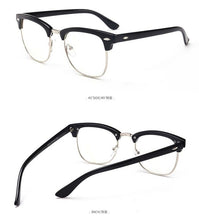Load image into Gallery viewer, Men's Casual Blue Light Blocking Glasses - Clubmaster Style