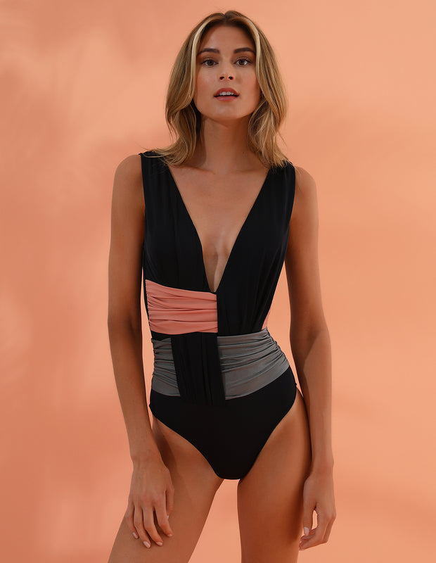 MESH ONE PIECE Glam