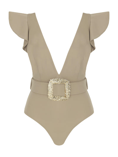 HELEN ONE PIECE TAUPE