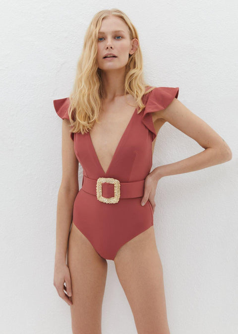 HELEN ONE PIECE ROSEWOOD
