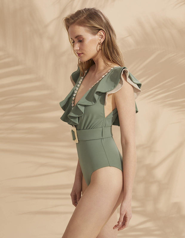 HARPER ONE PIECE KHAKI