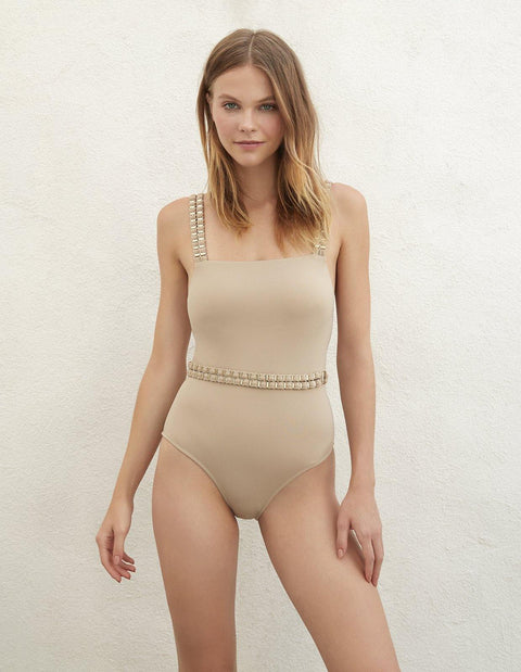 FAME ONE PIECE TAUPE