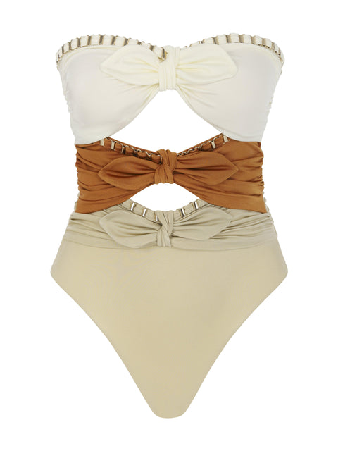 LOVE SHACK ONE PIECE CARAMEL