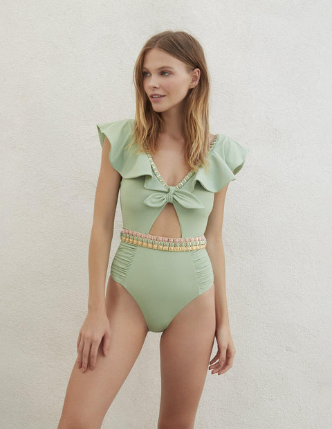 MODERN LOVE ONE PIECE MATCHA