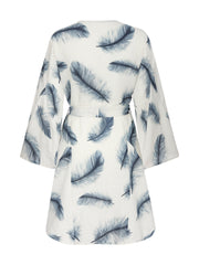 LILY KAFTAN FEATHER SKY