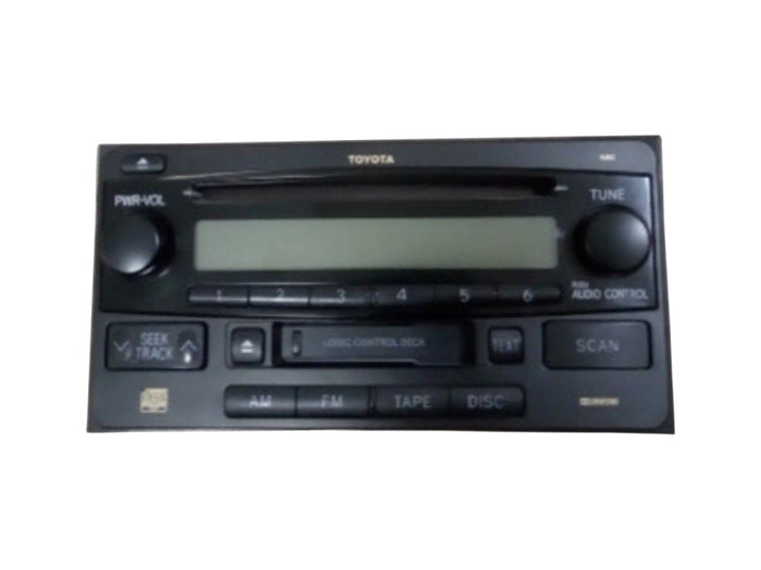 2003-2005 Toyota 4-Runner Radio AM / FM / CD / Cassette Player 86120-35281 OEM