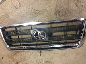Toyota Tundra SR5 Grille Chrome Black Upper Front 09 10 11 12 13 OEM A Grade