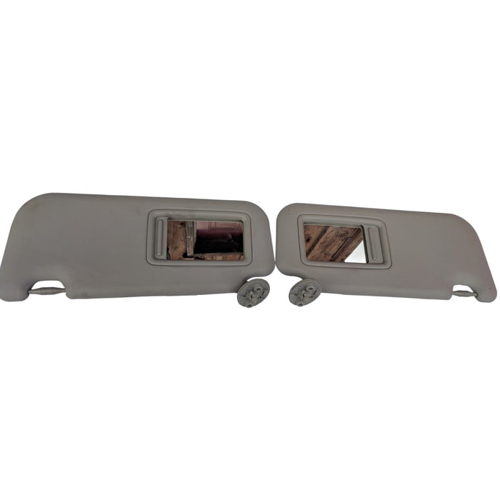 2012-2015 Toyota Prius C Left Right Side PAIR of Sunvisor Grey