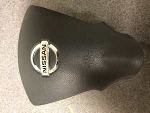 2013 2014 2015 2016 Nissan Sentra Driver Steering Wheel Air Bag BLACK Airbag OEM