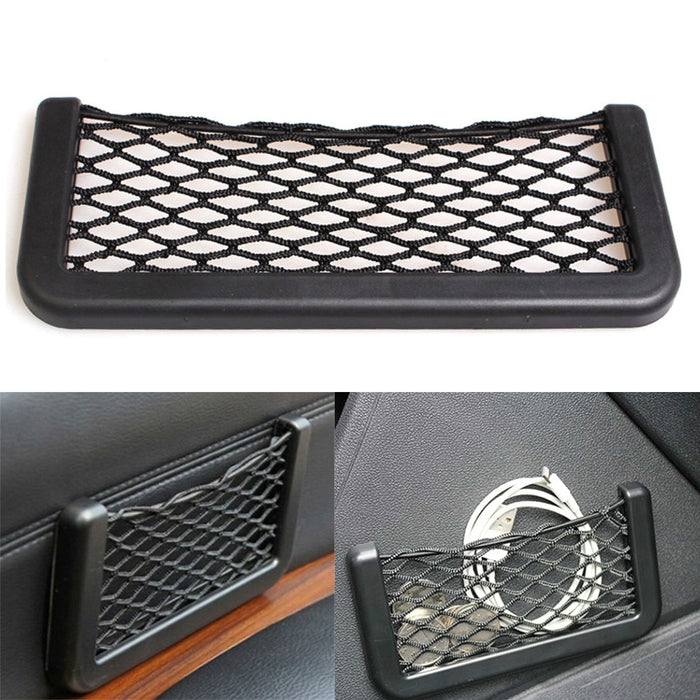 Car Storage Bag Elastic Flexible Mesh Back Rear Cargo Trunk Storage Organizer Net SUV Auto Accessories Pocket Cage