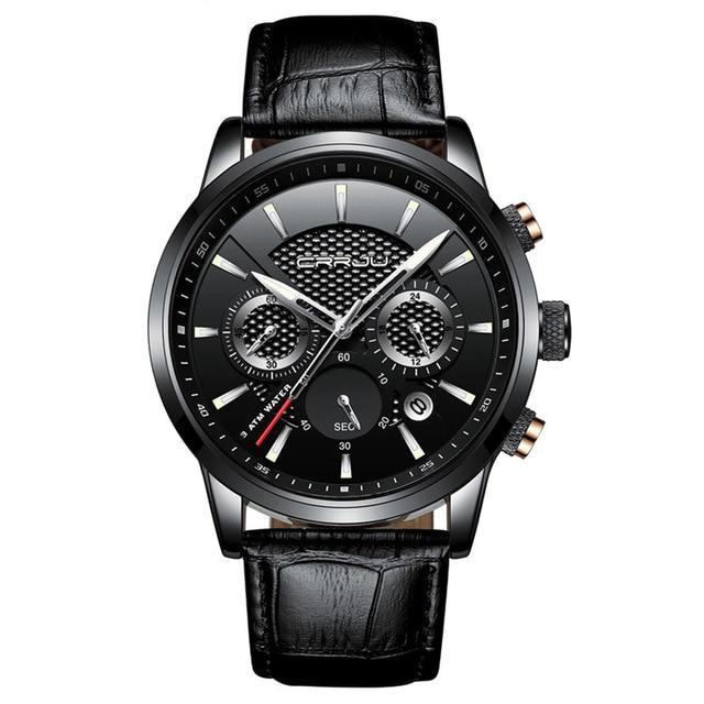 """Cercina"" Fashion Leather Watch"