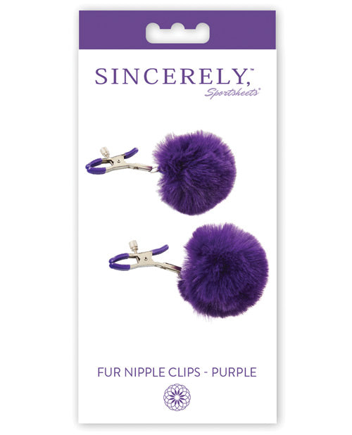 Sincerely Fur Nipple Clips