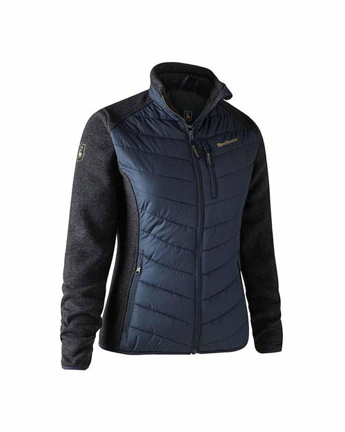 Deerhunter Lady Caroline Padded Jacket, Dark Blue Lady Hunter UK