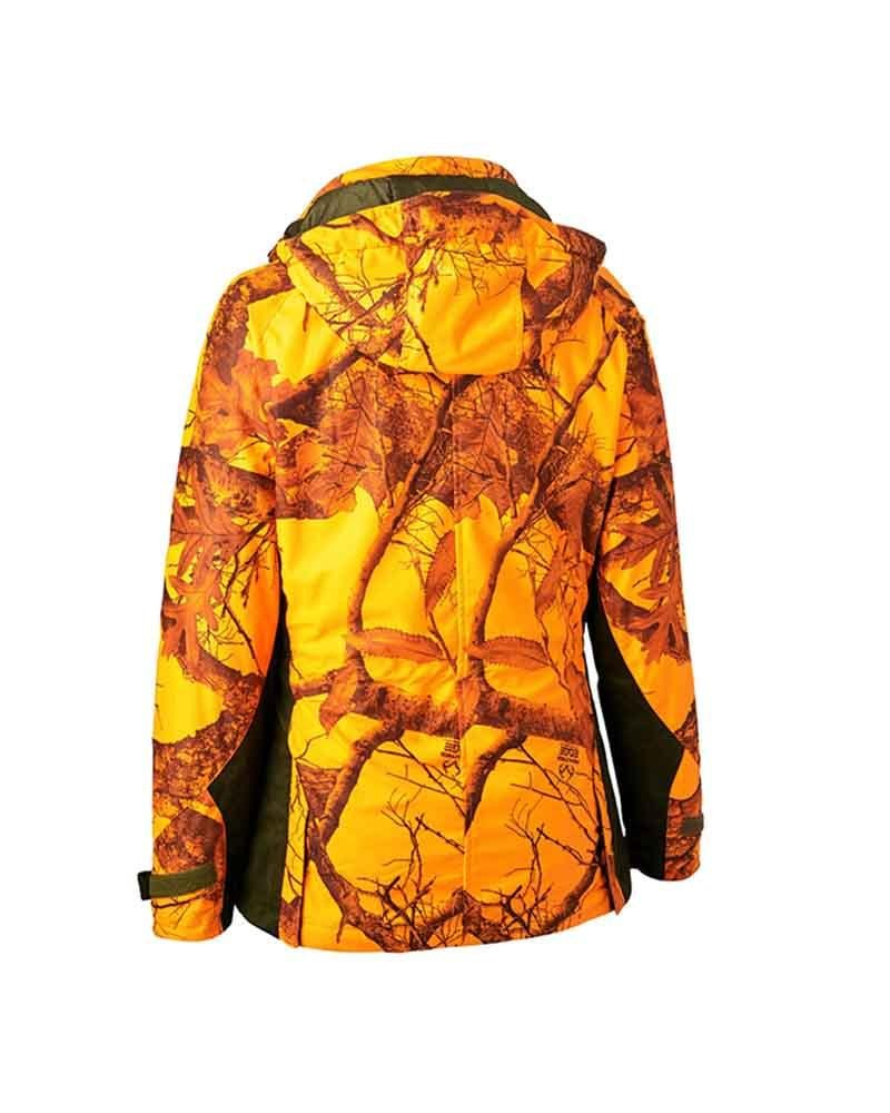 DeerhunterLady Estelle Winter Jacket Realtree Edge OrangeJacketsLady Hunter UK