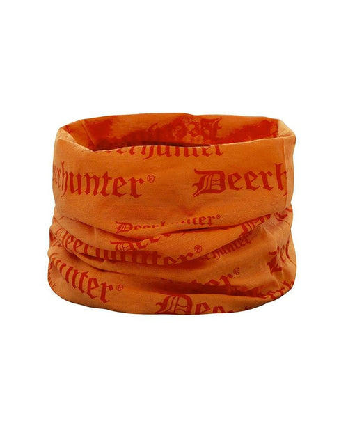 Deerhunter Logo Neck Tube, Orange Lady Hunter UK