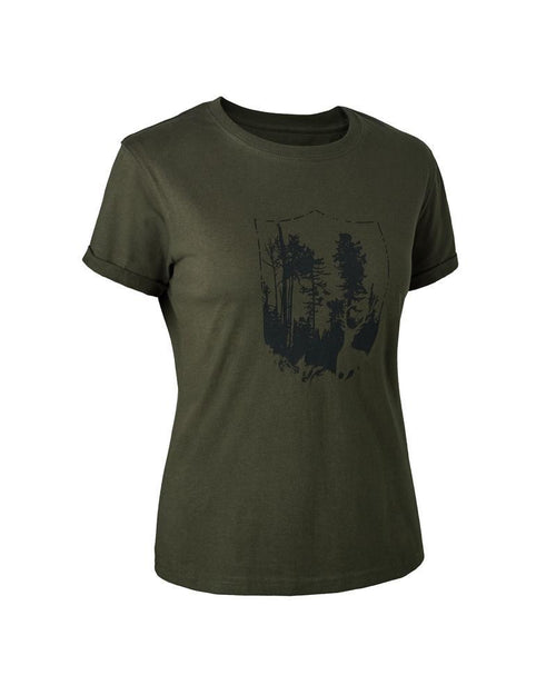 DeerhunterLady Shield T-ShirtT-ShirtsLady Hunter UK