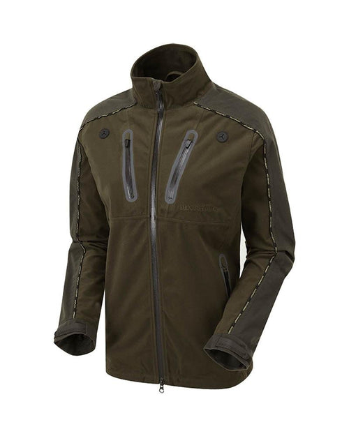 Shooterking Adventum Lady Jacket Brown Olive Green Women's Waterproof Hunting Jackets Front View Lady Hunter UK