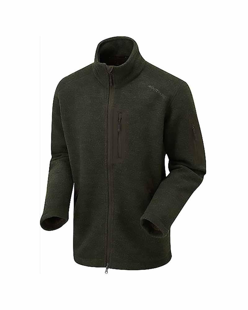 Shooterking Forest Woollen Lady Jacket Green Lady Hunter UK
