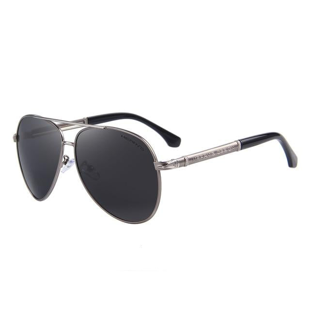 Pilot Polarized Sunglasses For Men - 4 Colors