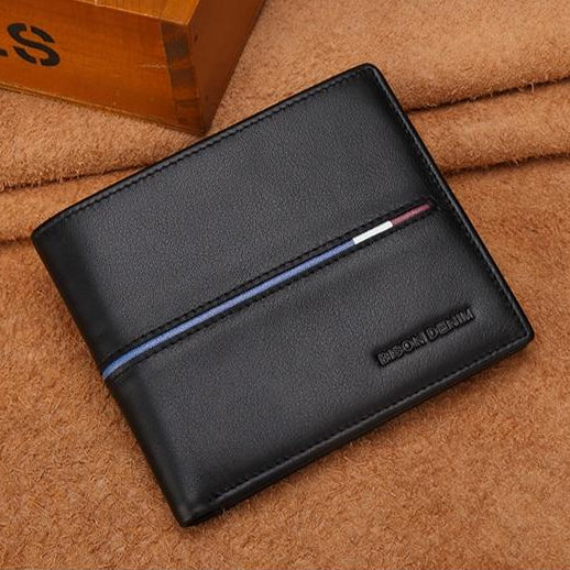 Genuine Tanned Leather Wallet For Men