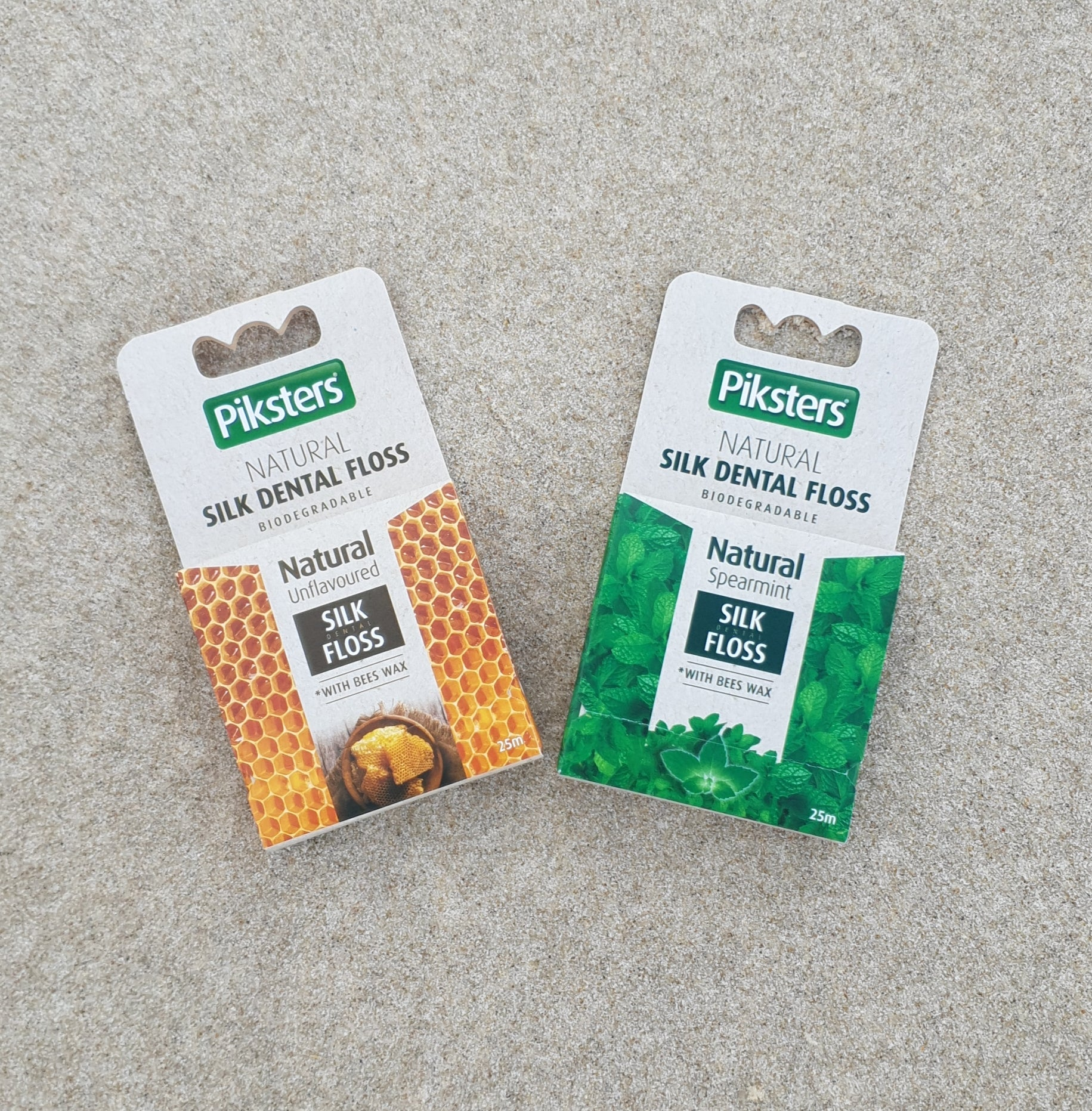 Natural Silk Dental Floss - by Piksters