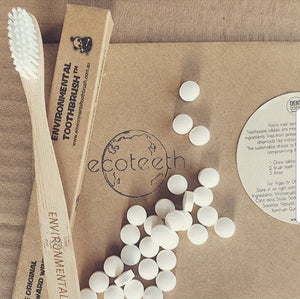 Denttabs  + Bamboo Toothbrush Bundle