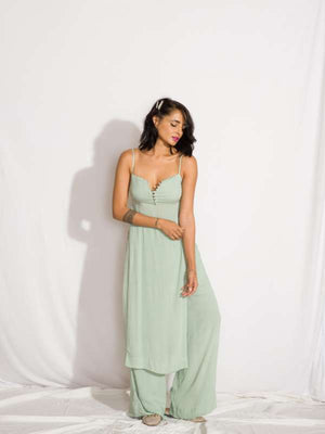 Two Piece Set (Sweet Symphony Top and High Waist Pants)