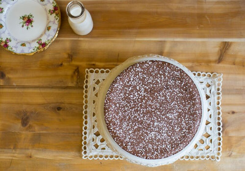Flourless Chocolate Espresso Hazelnut Torta