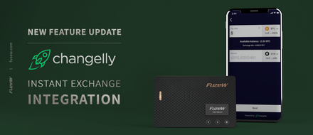New feature update : Exchange integration 'Changelly'