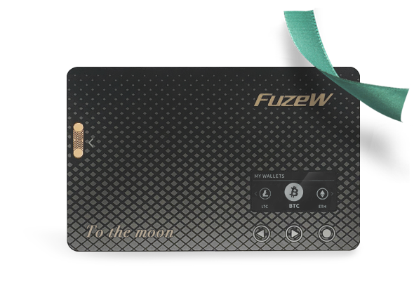 [Custom Edition] FuzeW Hardware Wallet