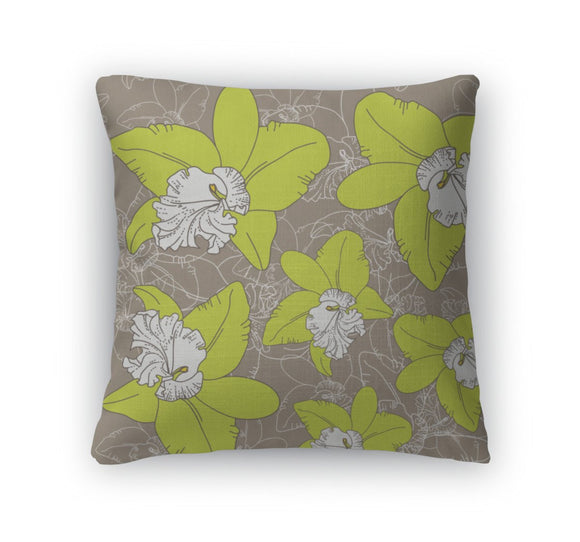 Throw Pillow, Floral Pattern - Throw Pillow - Payabee Home Goods