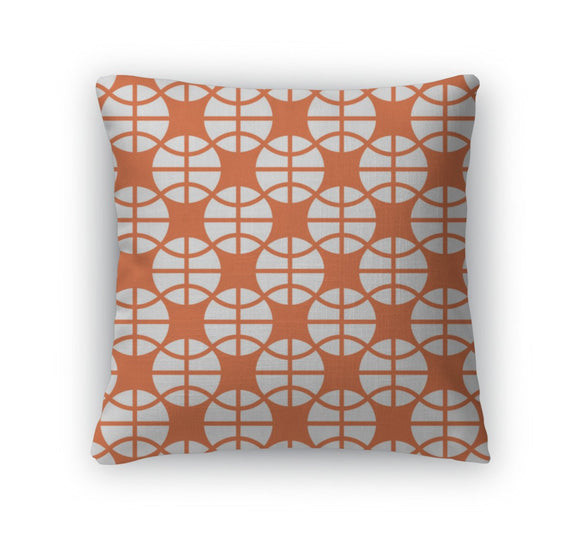 Throw Pillow, Basketball Ornament 3 - Throw Pillow - Payabee Home Goods