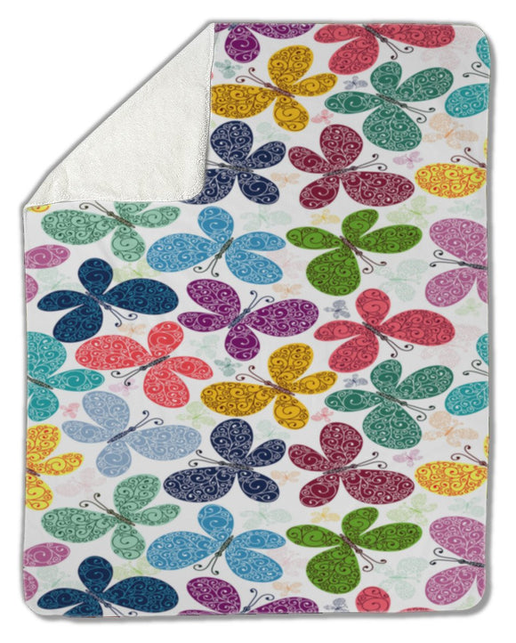Blanket, Butterflies - Blankets - Payabee Home Goods