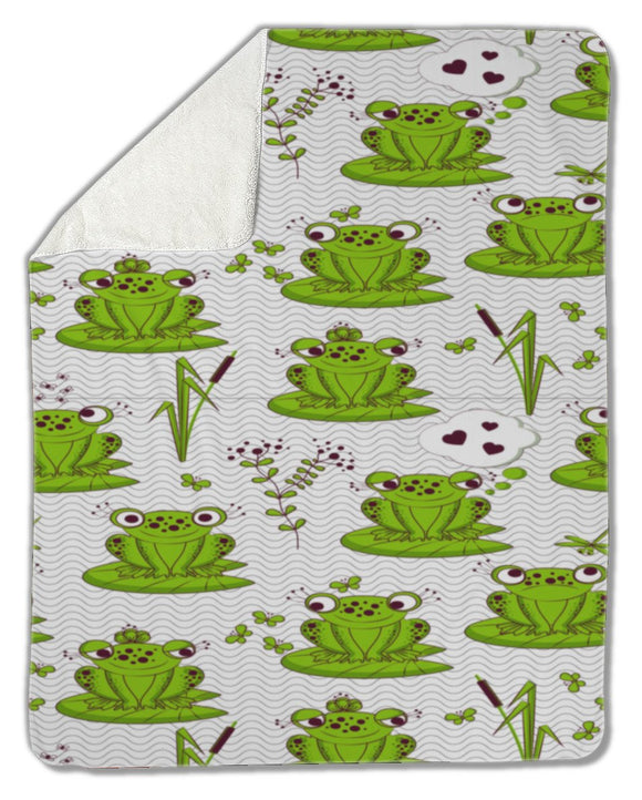 Blanket, Frogs - Blankets - Payabee Home Goods