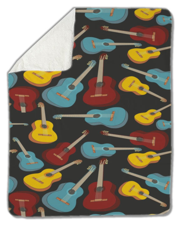 Blanket, Guitars - Blankets - Payabee Home Goods