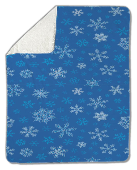 Blanket, Snowflakes - Blankets - Payabee Home Goods