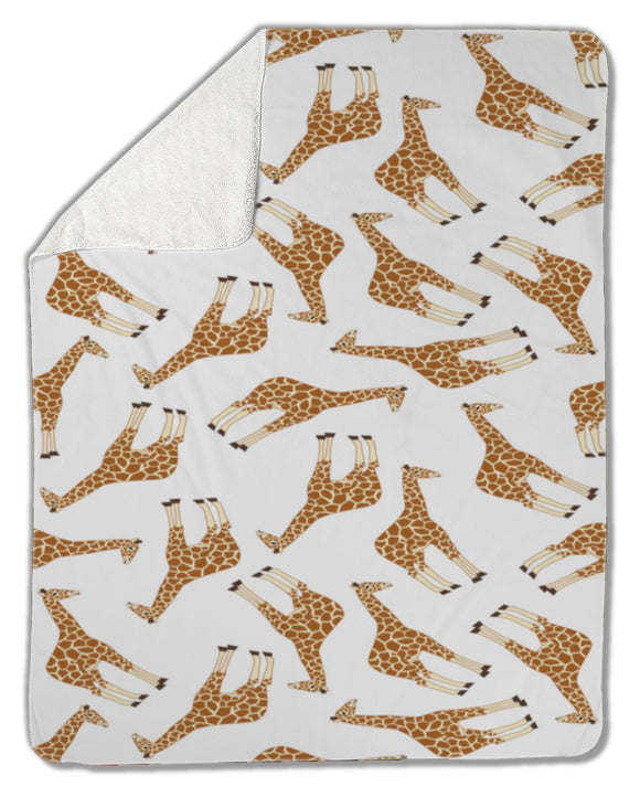 Blanket, Giraffe pattern - Blankets - Payabee Home Goods