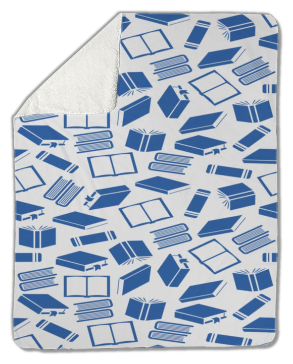 Blanket, Book pattern - Blankets - Payabee Home Goods