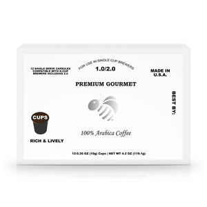 12-Pack Single-Serve Coffee Capsules - Coffee - Payabee Home Goods