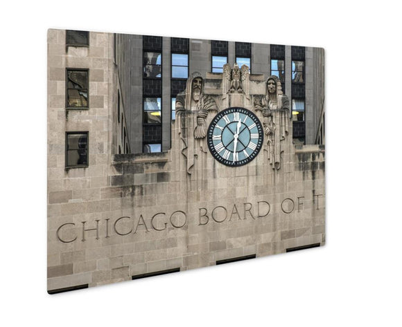 Metal Panel Print, Chicago Board Of Trade Building - Metal Panel Print - Payabee Home Goods